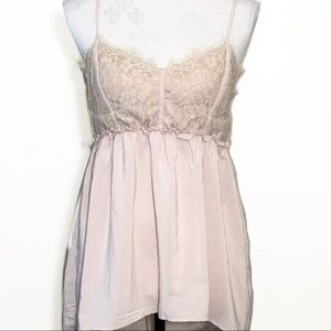 Flawless Corset Bust Top in light pink